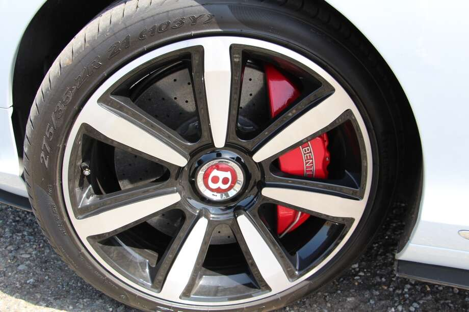 Massive 21-inch wheels.