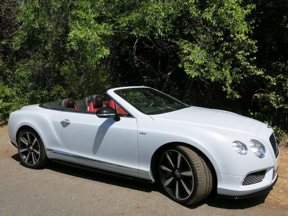 The 2014 Bentley Continental GT V8 S convertible is a $250,000 car that will get you about in a combination of retro British luxo car and go-fast (521 horsepower) ragtop. (All photos by Michael Taylor)