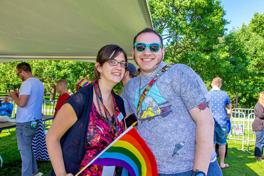 Were You Seen at the Capital PRIDE Parade and Festival in Albany on Saturday, June 14, 2014? Photo: Brian Tromans