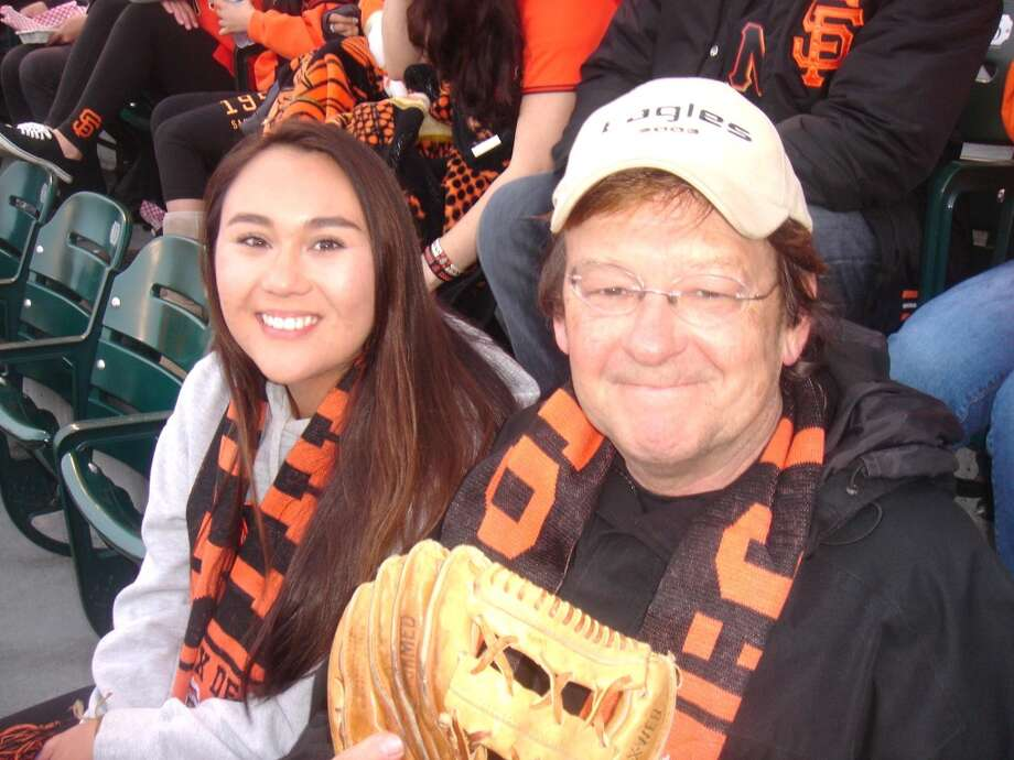 """Reader Poy Poy said this photo was from """"Scarf Day... Saying goodbye night to Candlestick Stadium."""" Photo: Poy Poy, Courtesy"""
