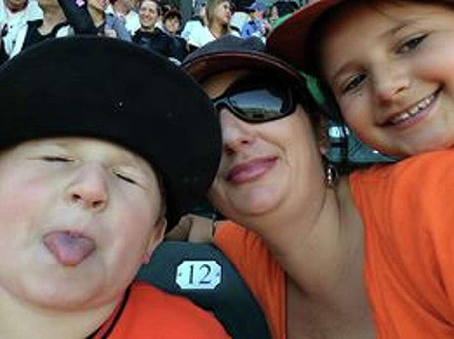 "Stephanie Aragon-Patton called this photo ""Family time."" Photo: Stephanie Aragon-Patton, Courtesy"