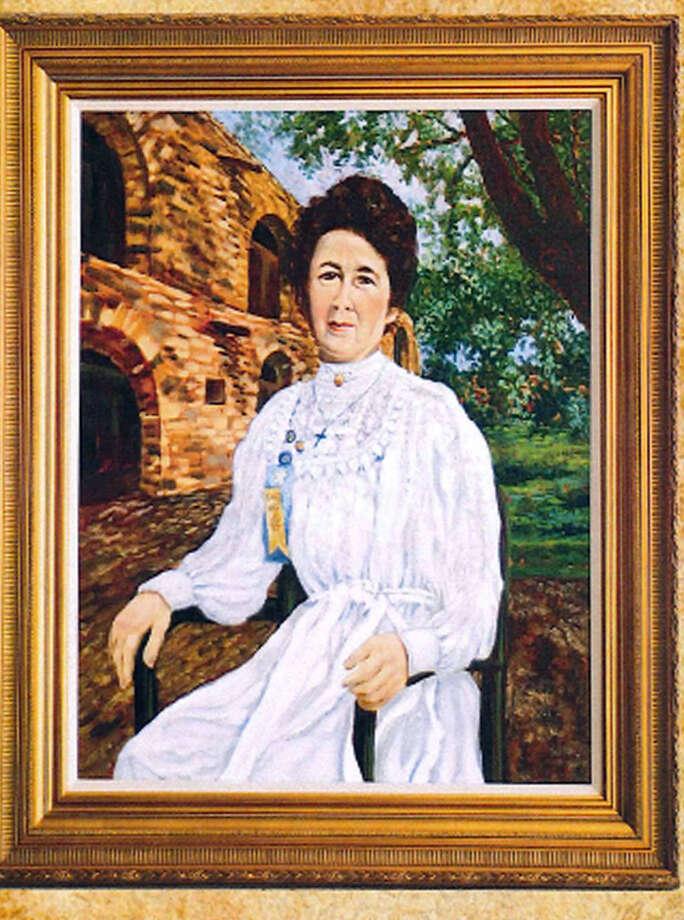 Maybe Adina De Zavala's portrait will hang someday in the Long Barrack. Photo: Courtesy Photo