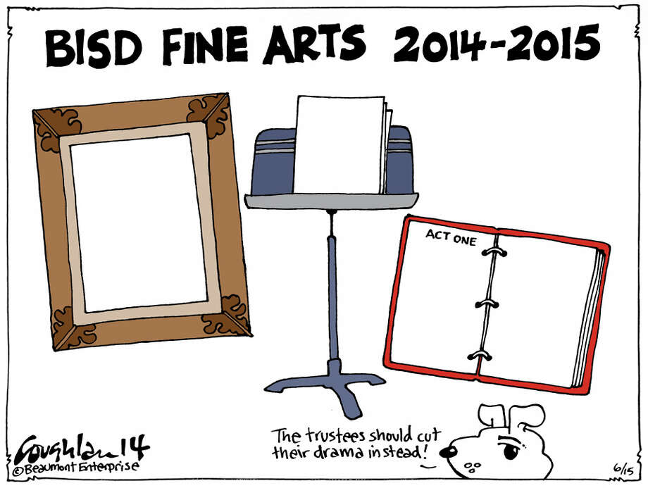Andy Coughlan's cartoon for Sunday, June 16, 2014.