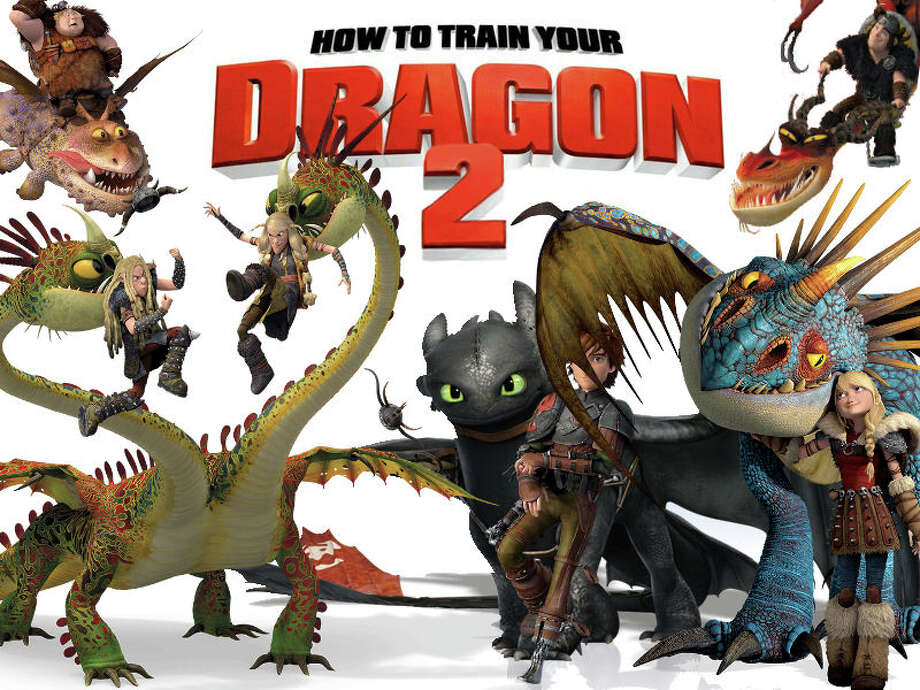 """How To Train Your Dragon 2,"" a second chapter in the popular animated mythological adventures, is now playing in area theaters. Photo: Contributed Photo / Westport News"