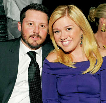 Singer Kelly Clarkson welcomed her first child, a daughter named River Rose Blackstock, with husband Brandon Blackstock on June 12. / Kevin Winter/ACMA2013