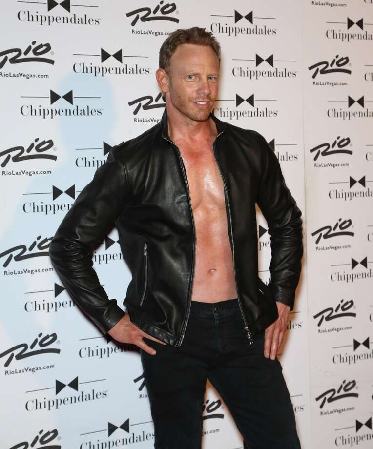 Actor Ian Ziering arrives for his return to the Chippendales stage at the Rio Hotel & Casino on June 14, 2014 in Las Vegas, Nevada. Photo: Gabe Ginsberg, FilmMagic