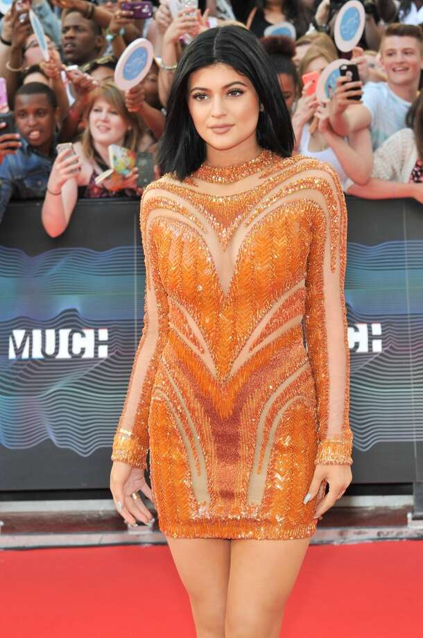 Kylie Jenner arrives at the 2014 MuchMusic Video Awards at MuchMusic HQ on June 15, 2014 in Toronto, Canada. Photo: Sonia Recchia, Getty Images