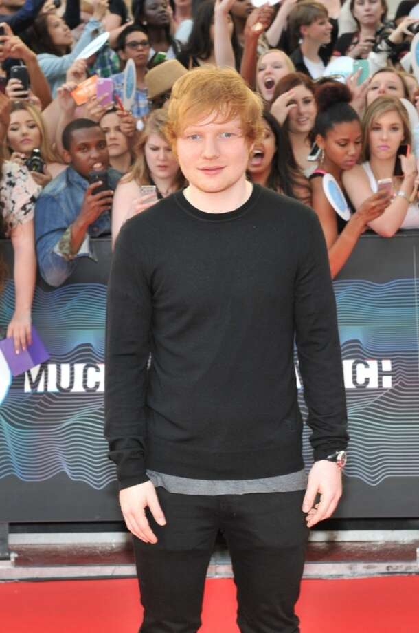 Ed Sheeran arrives at the 2014 MuchMusic Video Awards at MuchMusic HQ on June 15, 2014 in Toronto, Canada. Photo: Sonia Recchia, Getty Images