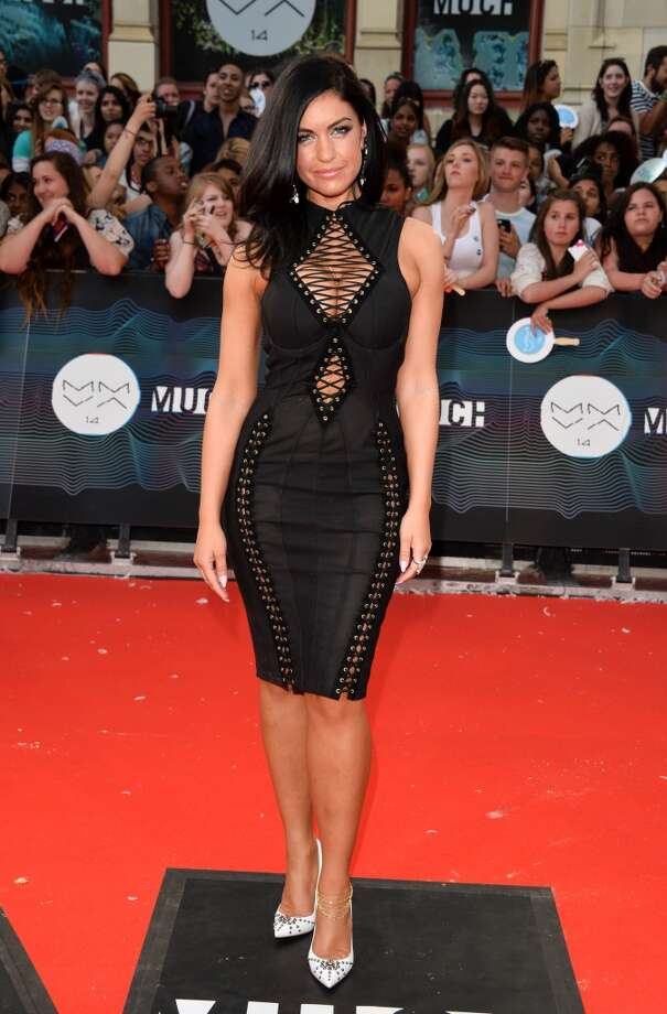 Singer Mia Martina arrives at the 2014 MuchMusic Video Awards at MuchMusic HQ on June 15, 2014 in Toronto, Canada. Photo: George Pimentel, WireImage