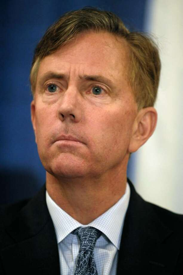 FILE - In this Jan. 20, 2010 file photo, Ned Lamont, listens to speakers at a bipartisan forum in Cromwell, Conn. A state Democratic official told The Associated Press Friday, Feb. 12, 2010, that Lamont will officially announce his bid for governor Tuesday at the Old State House in Hartford.  (AP Photo/Jessica Hill, File) Photo: Jessica Hill, AP / AP2010