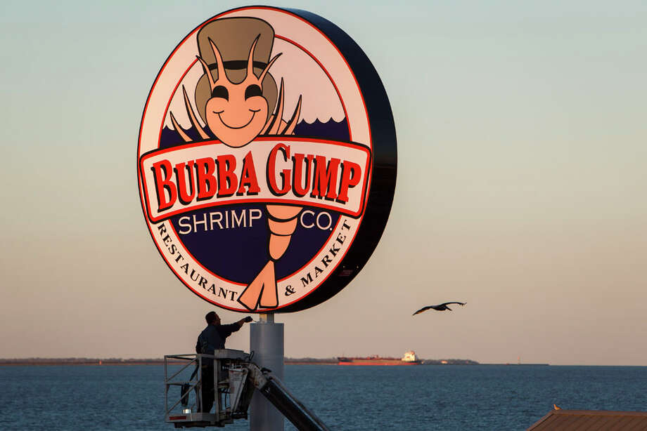 "Owned by Houston-based Landry's, there are Bubba Gump Shrimp Co. restaurants all over the world, including the Kemah Boardwalk and the Pleasure Pier in Galveston. However, there are no locations Alabama -- where Gump's character and fictional shrimping business were born. They also do ""Gump"" trivia with customers, so brush up for bragging rights.  Photo: Michael Paulsen, Houston Chronicle / © 2013 Houston Chronicle"