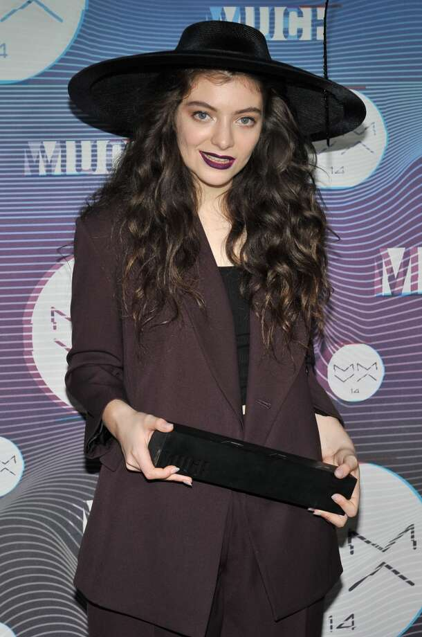 Singer-songwriter Lorde poses in the press room at the 2014 MuchMusic Video Awards at MuchMusic HQ on June 15, 2014 in Toronto, Canada. Photo: Sonia Recchia, Getty Images