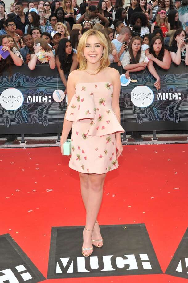 Kiernan Shipka arrives at the 2014 MuchMusic Video Awards at MuchMusic HQ on June 15, 2014 in Toronto, Canada. Photo: Sonia Recchia, Getty Images