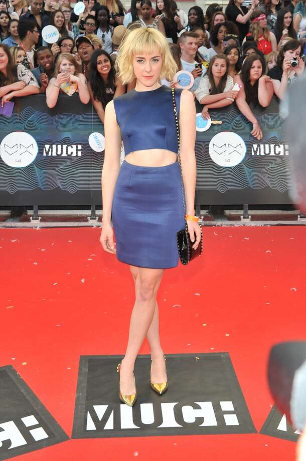 Jena Malone arrives at the 2014 MuchMusic Video Awards at MuchMusic HQ on June 15, 2014 in Toronto, Canada. Photo: Sonia Recchia, Getty Images