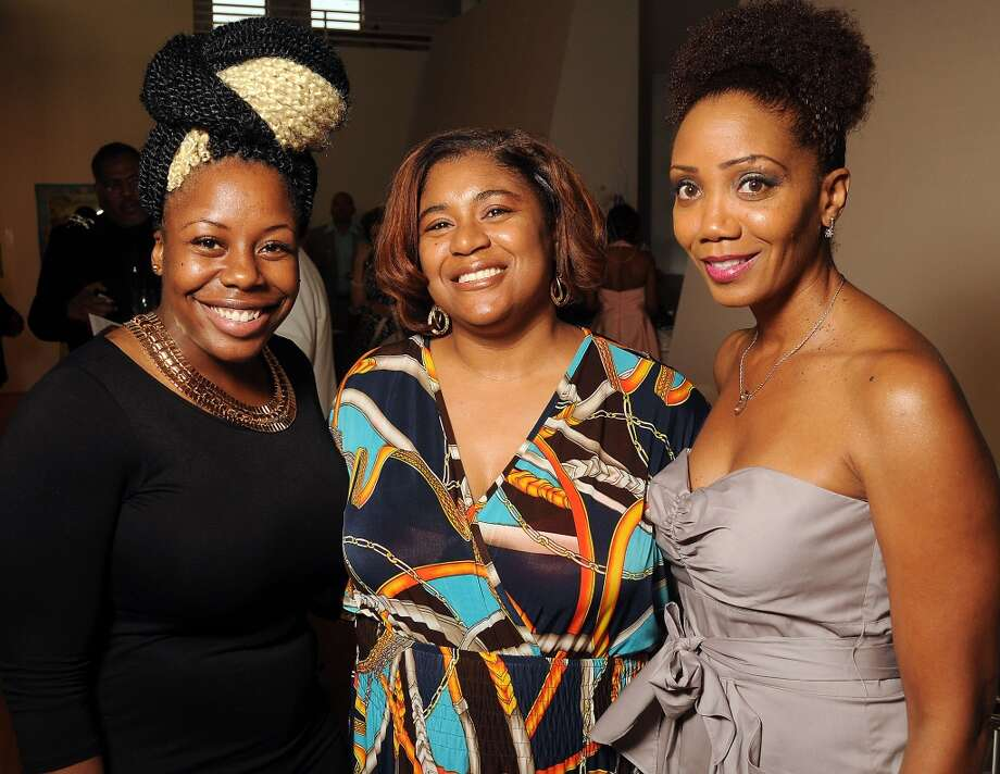 Ashel Patrel, Jane Floyd and Tanya Douglas Photo: Dave Rossman, For The Houston Chronicle