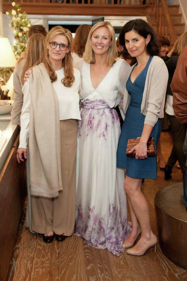 Carole Cayer, Jessie Black and Carla Vinhas at the Jessie Black Boutique opening celebration on June 5, 2014. Photo: Drew Altizer, Drew Altizer Photography