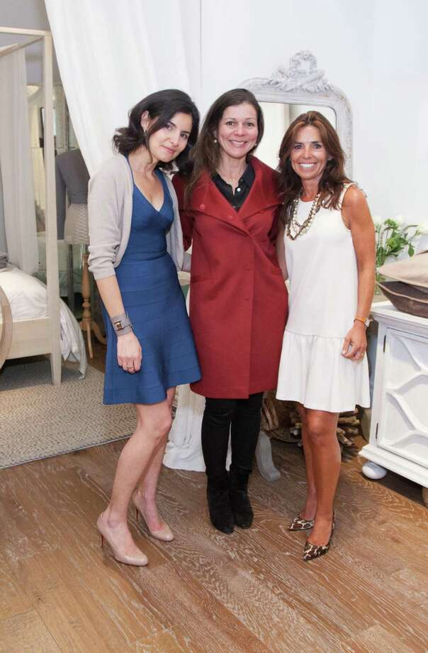 Carla Vinhas, Martha Carvalho and Patricia Blanc at the Jessie Black Boutique opening celebration on June 5, 2014. Photo: Drew Altizer, Drew Altizer Photography