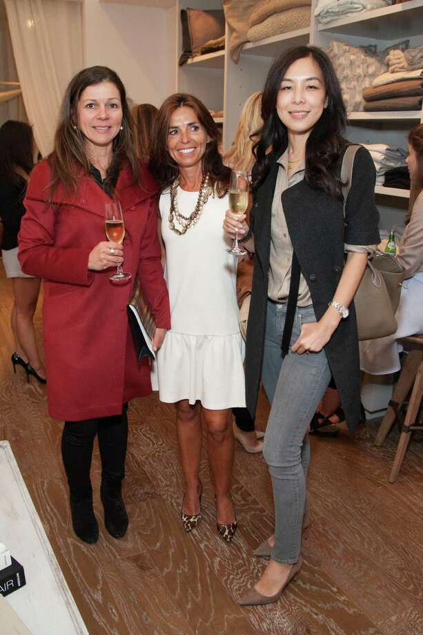 Martha Carvalho, Patricia Blanc and Lan Jaenicke at the Jessie Black Boutique opening celebration on June 5, 2014. Photo: Drew Altizer, Drew Altizer Photography