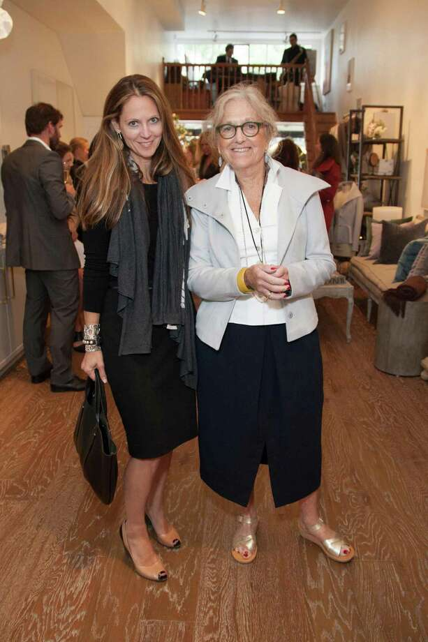Cynthia Connors and Susan Becher at the Jessie Black Boutique opening celebration on June 5, 2014. Photo: Drew Altizer, Drew Altizer Photography