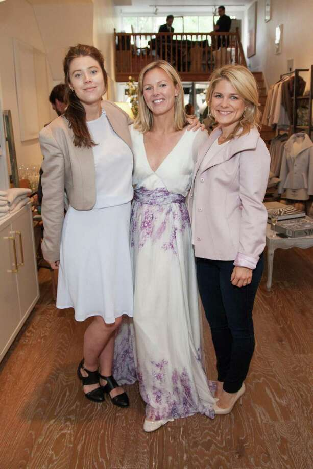 Sophie Wijkstra, Jessie Black and Abbey Cook at the Jessie Black Boutique opening celebration on June 5, 2014. Photo: Drew Altizer, Drew Altizer Photography