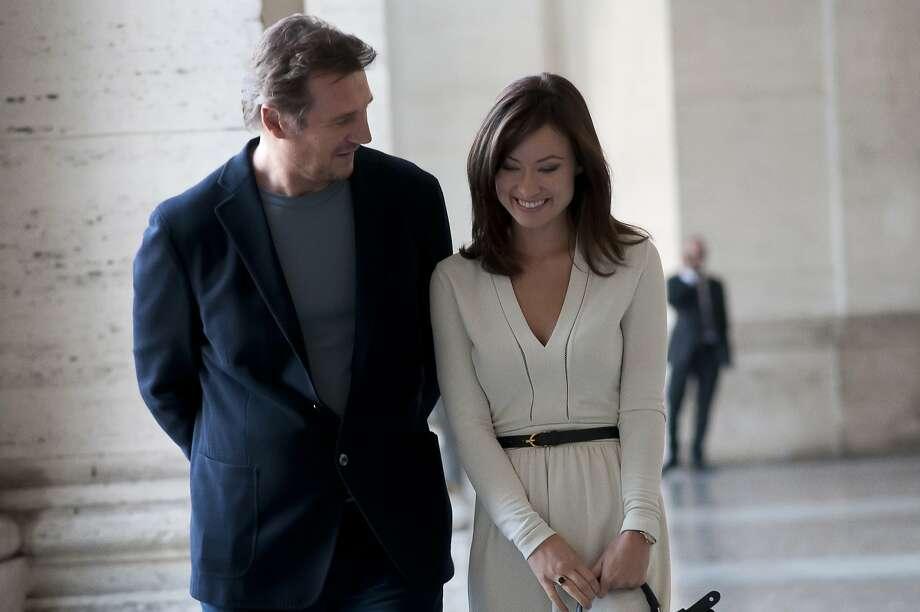 Liam Neeson and Olivia Wilde star. Photo: Sony Classics