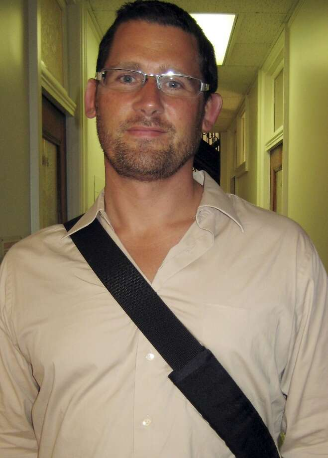 Ryan Chamberlain pleaded not guilty to explosives charges. Photo: Associated Press