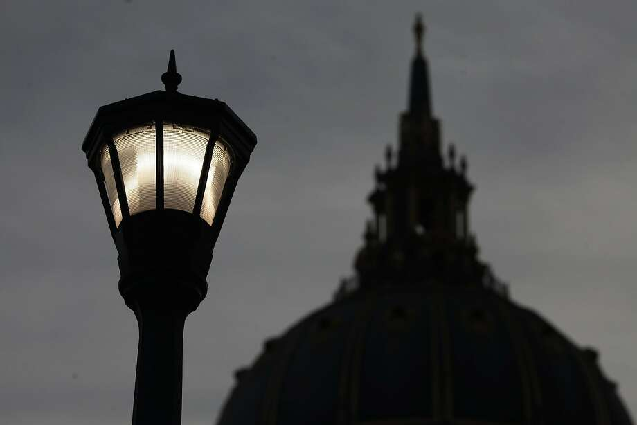 City Hall and other public agencies in S.F. buy power at a deep discount from the SFPUC, which wants to broaden its sales. Photo: James Tensuan, The Chronicle
