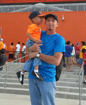 Rene GonzalesI'm just a normal dad with an Awesome son. Photo: Reader Submission