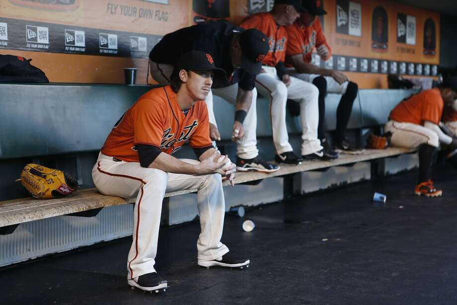 Tim Lincecum, who spent much of his 20s in the public eye, said he learned some valuable lessons from the experience - lessons that have helped him grow up. Photo: Beck Diefenbach, Associated Press