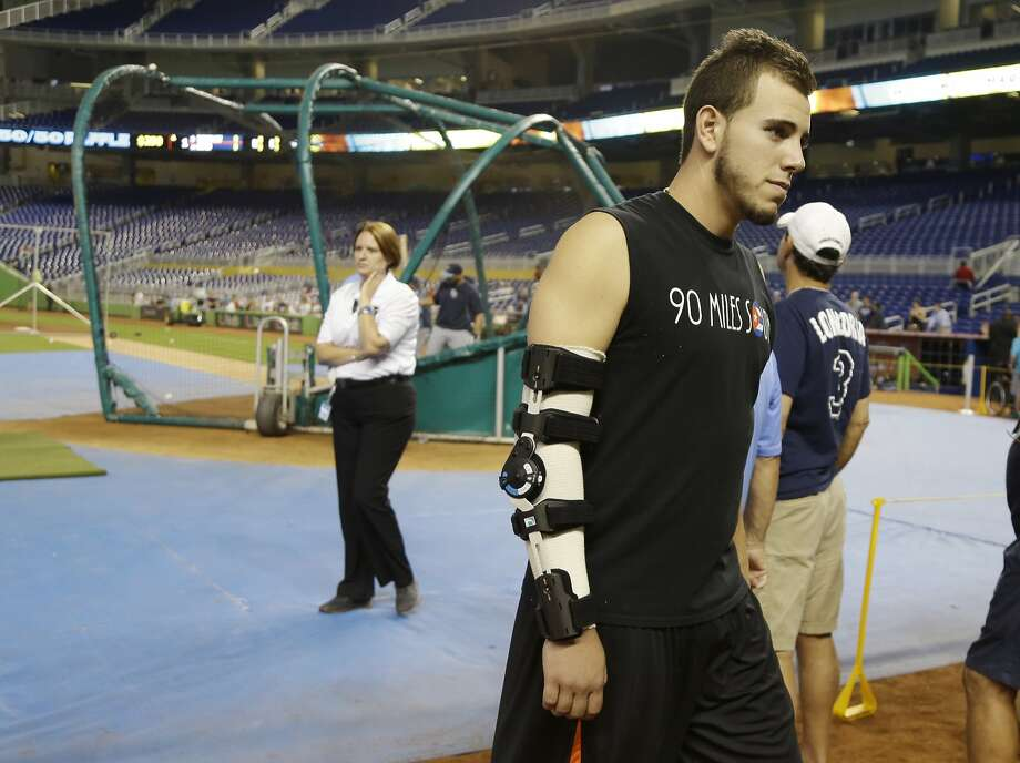 Right-hander Jose Fernandez's season-ending elbow operation has had a major impact on Miami's rotation. Photo: Lynne Sladky, Associated Press