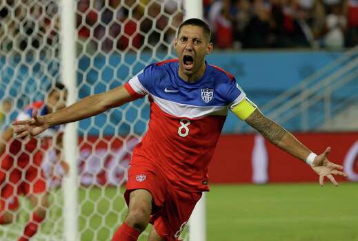 4) Dempsey is the first American player to score in three different World Cups, he scored against Ghana in 2006 and 2014 and against England in 2010. Photo: Ricardo Mazalan, Associated Press / AP