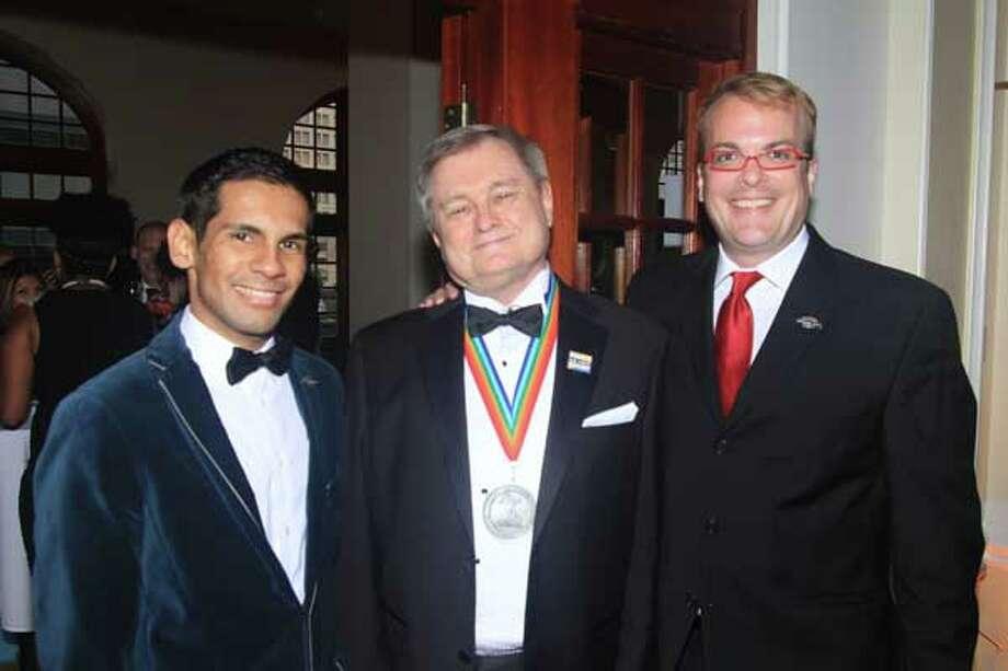 Hector Cardova, JD Doye, Nicholas Brines Photo: Chris Garza