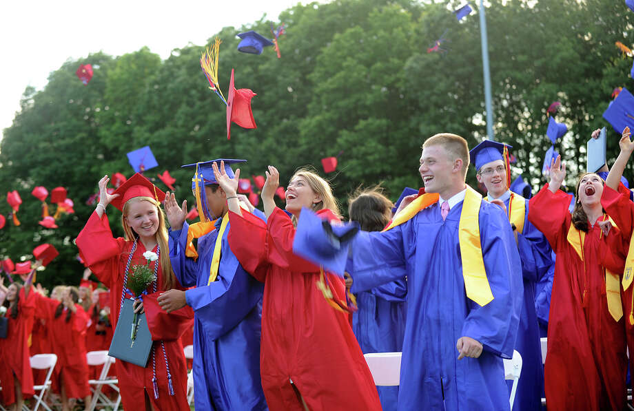 The Joseph A. Foran High School graduation in Milford, Conn. on Monday, June 16, 2014. Photo: Brian A. Pounds / Connecticut Post