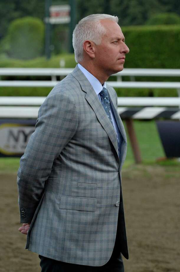 Trainer Todd Pletcher is contemplative after winning the 50th running of The Jim Dandy with his charge Palace Malice July 27, 2013, at the Saratoga Race Course in Saratoga Springs, N.Y.   (Skip Dickstein/Times Union) Photo: SKIP DICKSTEIN
