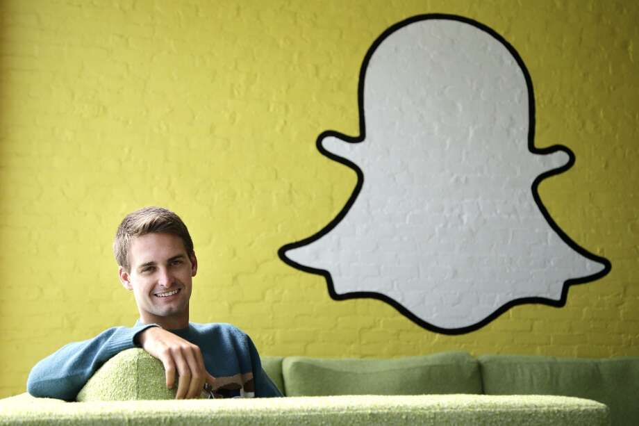 "Evan Spiegel, Snapchat CEO Last month, Spiegel said he was ""mortified""  after  Valleywag published offensive e-mails he wrote while at Stanford University. ""I'm sorry I wrote them at the time and I was [a] jerk to have written them. They in no way reflect who I am today or my views towards women,"" he said. Photo: Jae C. Hong, Associated Press"