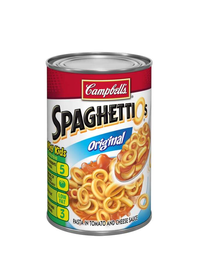 Campbell Soup is recalling 355,000 cans of SpaghettiOs Original in the U.S. due to a possible choking hazard. Click to see other massive food recalls. Photo: Campbell Soup Company