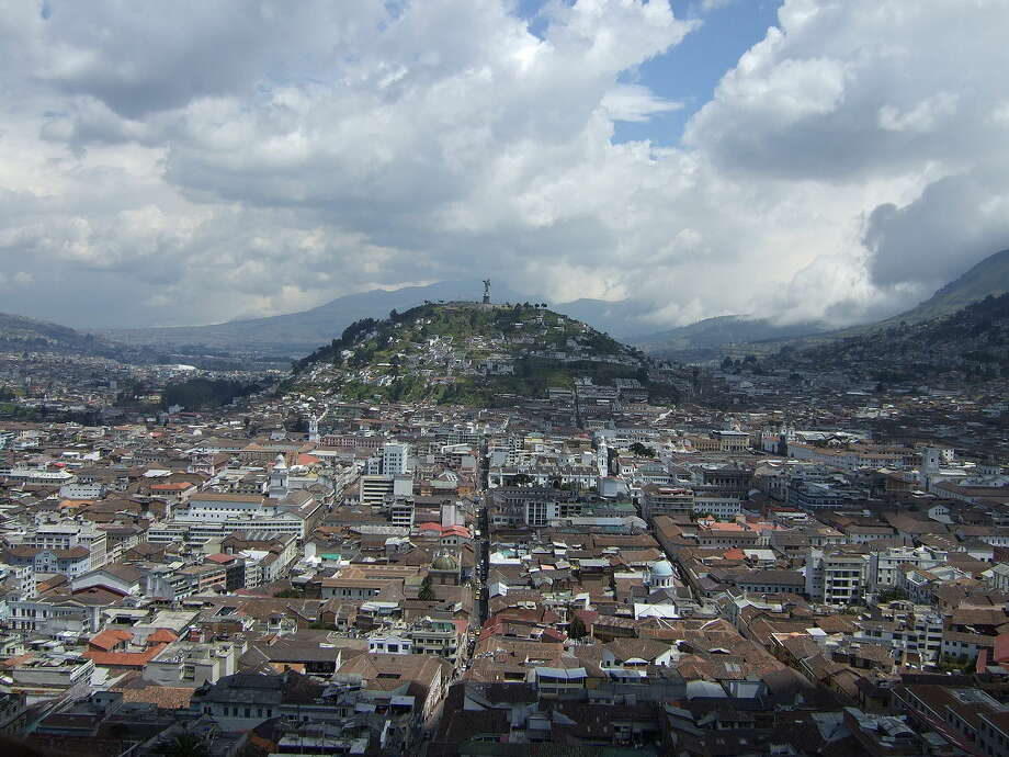 BOGOTA, ColombiaFlight time: Just under 5 hours. Photo: Lion Hirth/Wikimedia Commons