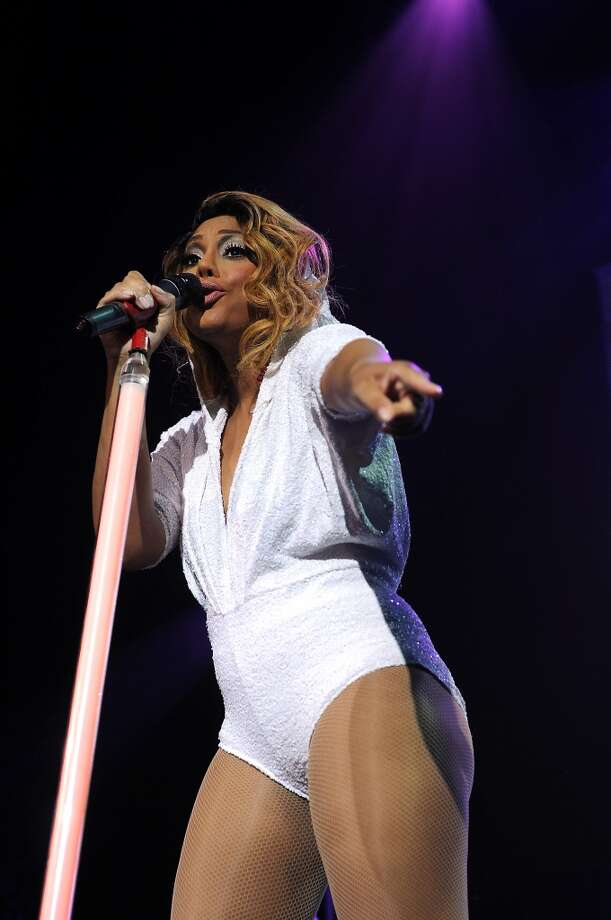 Tamar Braxton performs at the House of Blues Monday June 16, 2014.(Dave Rossman photo) Photo: For The Houston Chronicle