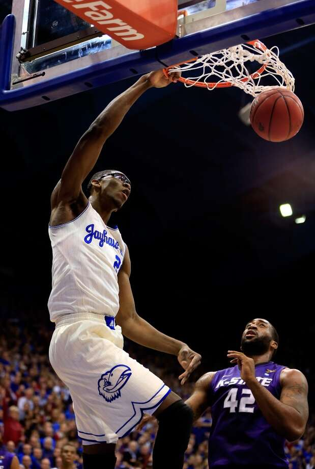 1. Cleveland – Joel Embiid, 7-0, C, KansasIndications are that Embiid's back has been checking out OK. His combination of size, athleticism and upside were always tantalizing. Photo: Jamie Squire, Getty Images