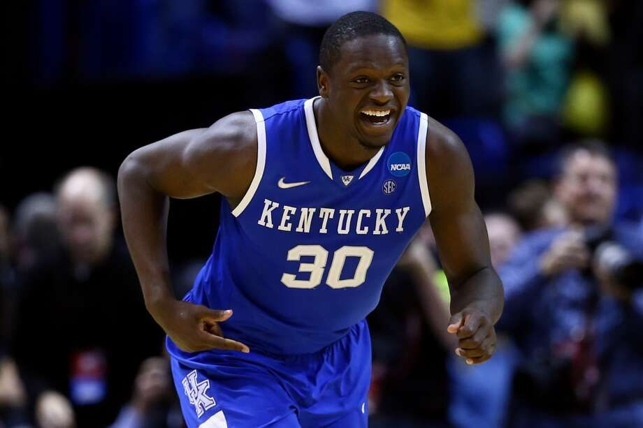 7. Los Angeles Lakers – Julius Randle, 6-9, F, Kentucky  Randle could go several spots higher or even slip a team or two, but Randle could quickly be a reliable low-post scorer, and a successor to Pau Gasol. Photo: Andy Lyons, Getty Images