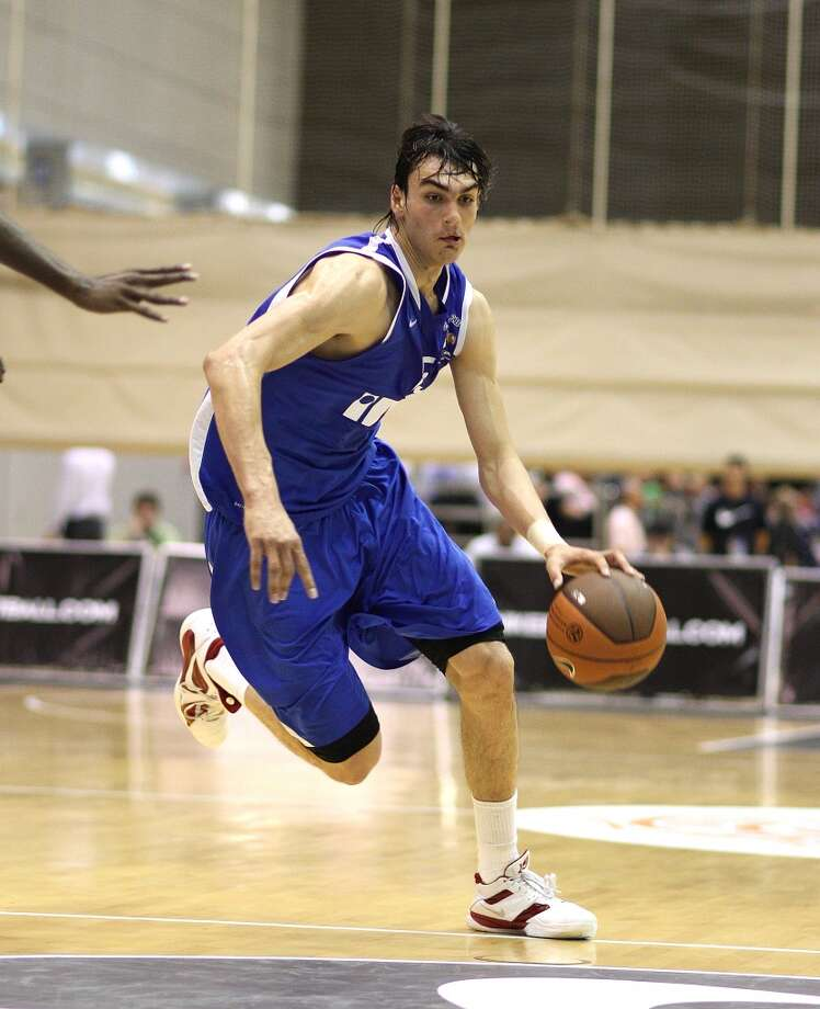 10. Philadelphia – Dario Saric, 6-10, F, Cibona Zagreb  The Sixers have to potential to be as busy on draft night as they have been since Sam Hinkie took over, but Saric's frontcourt versatility would make him a solid pick, and would not duplicate players taken last season or with the third pick. Photo: Ulf Duda, EB Via Getty Images