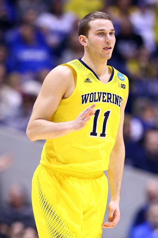11. Denver – Nik Stauskas, 6-7, G, MichiganGary Harris has also seemed to make some noise through the workouts, but the Nuggets could opt for Stauskas' elite shooting. Photo: Andy Lyons, Getty Images