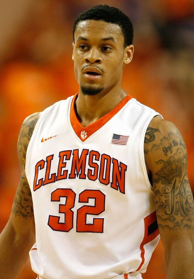 23. Utah – K.J. McDaniels, 6-6, F, Clemson  McDaniels suspect jump shot might keep him from going earlier, but many believe that will come around. He could add the athleticism at small forward that would work well, and could eventually be needed in the unlikely event Gordon Hayward leaves as a free agent. Photo: Tyler Smith, Getty Images