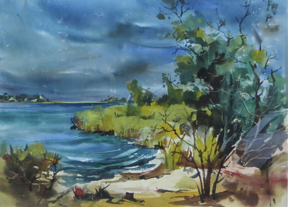 A new exhibit of watercolors by artist Mimi Adams Findlay, of New Canaan, runs through Oct. 31 at the Lockwood-Mathews Mansion Museum in Norwalk. Find out more.  Photo: Contributed Photo, Contributed / New Canaan News Contributed