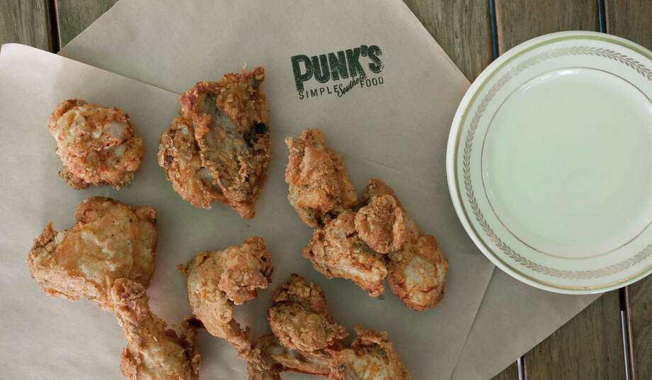 Chef Brandi Key's fried chicken from Punk's Simple Southern Food in Houston. Photo: Debora Smail / Debora Smail