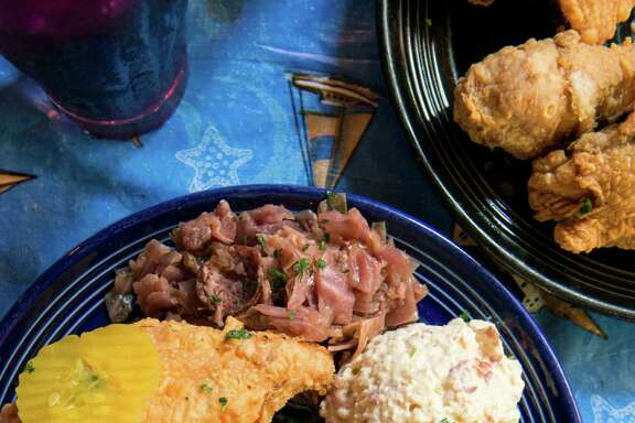 """Jacques-Imo's Fried Chicken from Jacques-Imo's Cafe in New Orleans is featured in """"Fried & True: More Than 50 Recipes for America's Best Fried Chicken and Sides."""""""