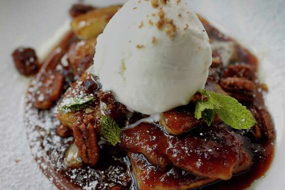 The Bananas Foster photographed at Dish Society, Wednesday, June 11, 2014, in Houston.  ( Karen Warren / Houston Chronicle  )