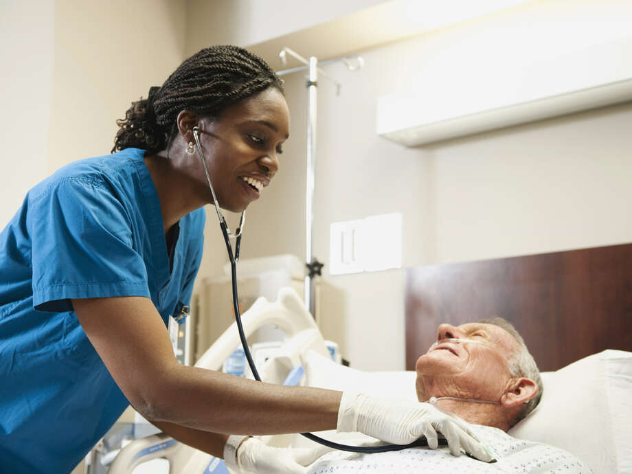 "The survey asked several experts to name the biggest problems nurses today. Here are some of the issues they identified: ""An aging population and therefore a sicker population that will put more demands on nurses"" - Steven G. Ullmann, University of Miami Photo: Tetra Images - Erik Isakson, Getty Images / Brand X"