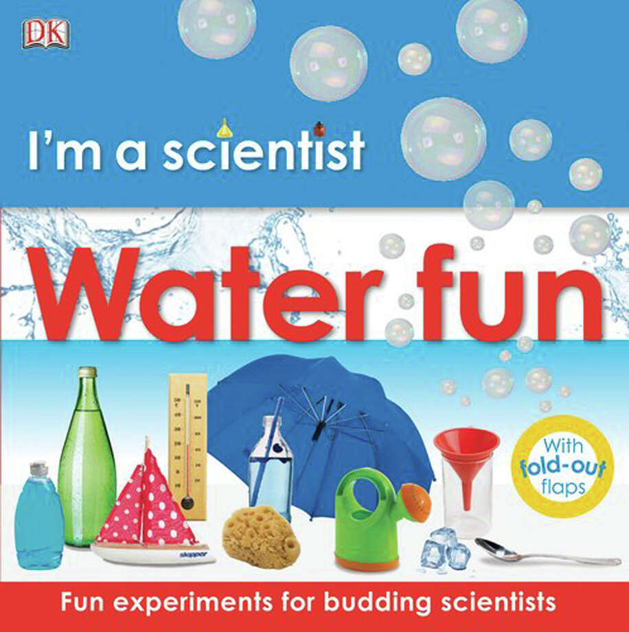 """This yearís Summer Reading Program, ìFizz, Boom, Read!,î is science-themed. One of the many fun books to read is """"Iím a Scientist: Water Fun,"""" from DK Publishing. Photo: Contributed Photo / Greenwich Time Contributed"""