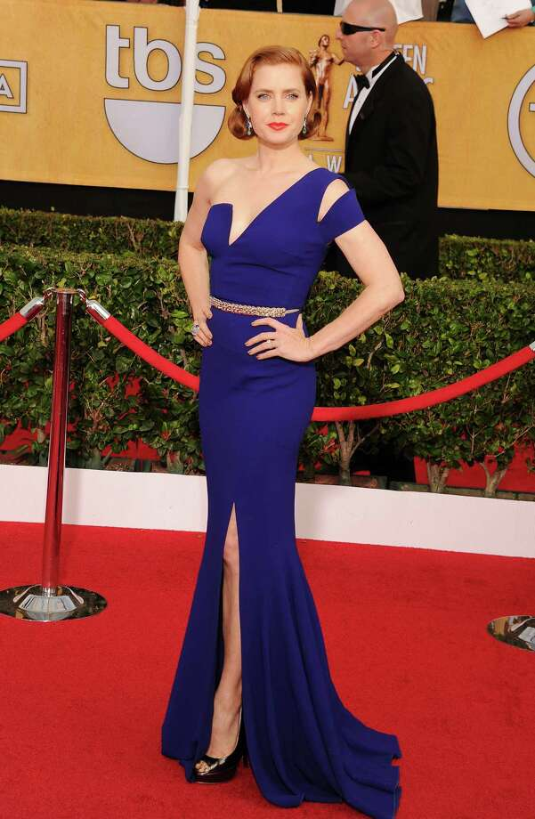 2014Actress Amy Adams arrives at the 20th Annual Screen Actors Guild Awards at The Shrine Auditorium. Photo: Jeffrey Mayer, Getty / 2014 Jeffrey Mayer